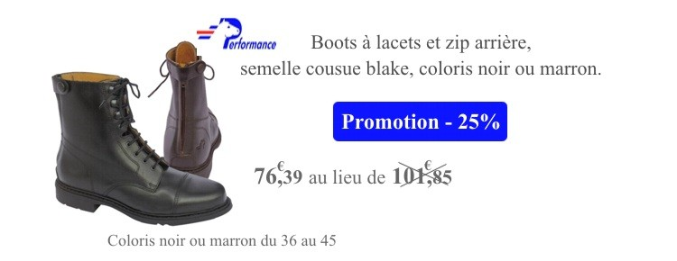 Boots Dandy Performance en Promotion