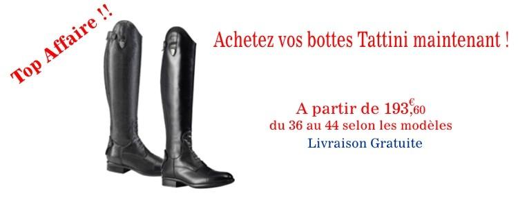 Bottes Tattini Breton et Boxer en promo