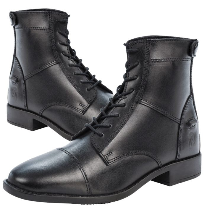 52120e26c53399 Boots equitation Performance Tanlay - Boots cuir gras