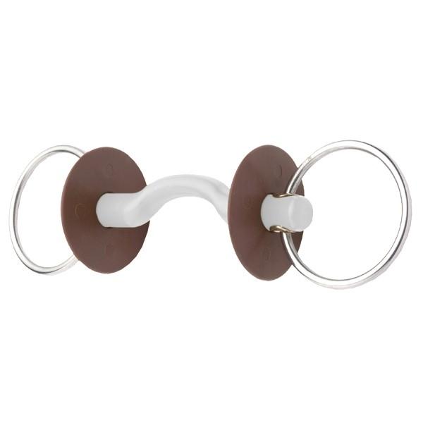 Mors Beris 2 anneaux à passage de langue