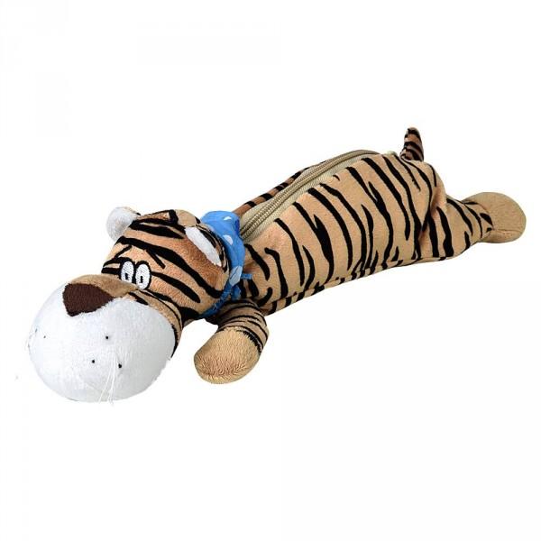 Trousse tigre en peluche