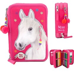 Triple trousse garnie Cheval blanc