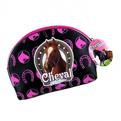 Petite trousse maquillage Cheval passion