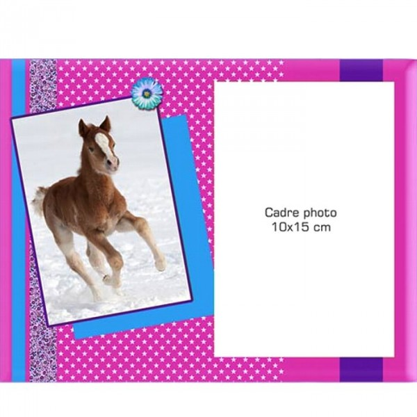 Cadre photo joli poney