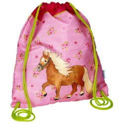 Sac de sport Pony Farm rose