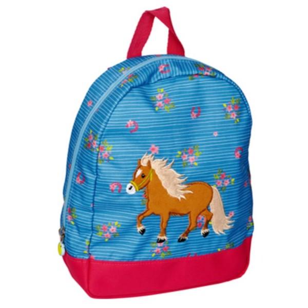 Sac à dos Pony Farm bleu