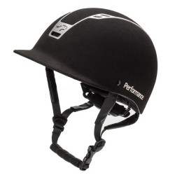 Casque Performance Noir Suedine