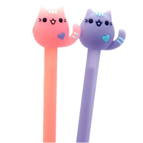 Ensemble de 2 stylos Chacidulés - orange et violet