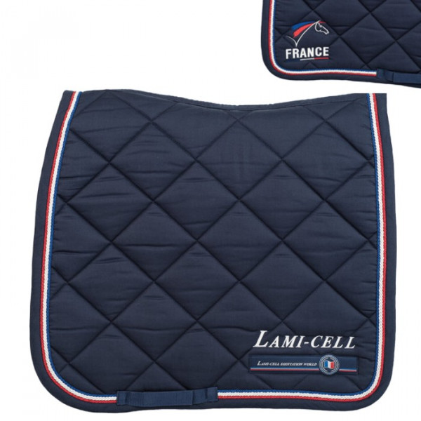 Tapis de selle dressage France de Lami-Cell