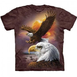 Tee shirt Aigles Majestueux - Taille S