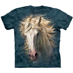 Tee shirt Portrait de Cheval - Taille S