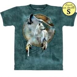 Tee shirt Loup Esprit de Loup - taille S