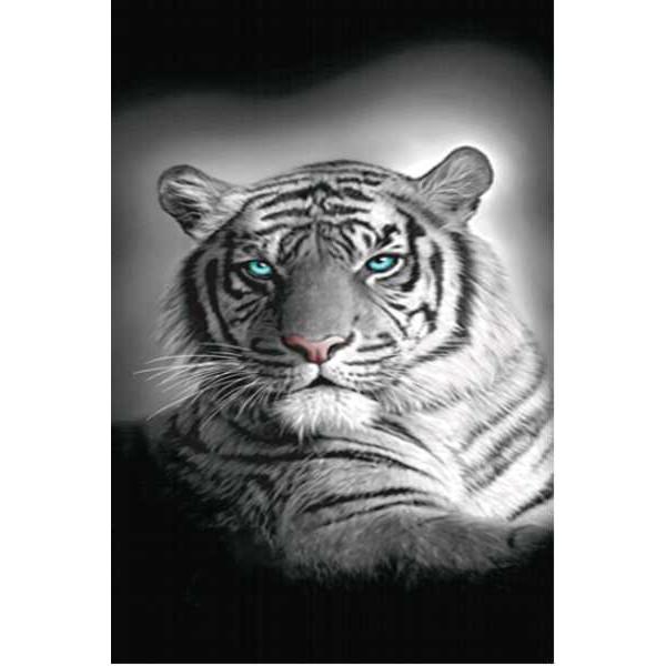 Grand Drap de plage Tigre du Bengale -140 x 180