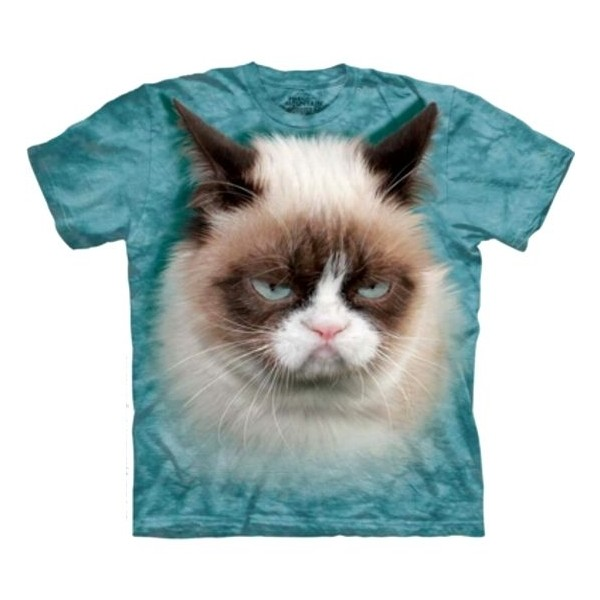 Tee shirt Chat Grumpy