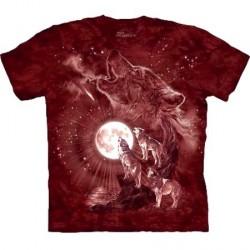 Tee shirt Loup - Concert sous la Lune - Taille S