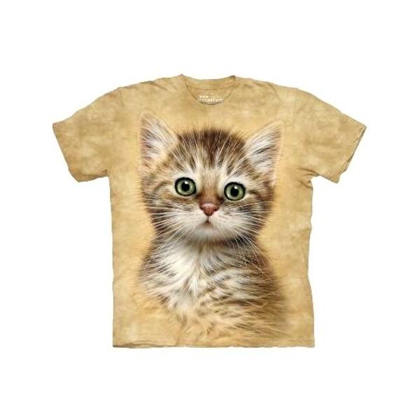 Tee shirt Chat tigré marron