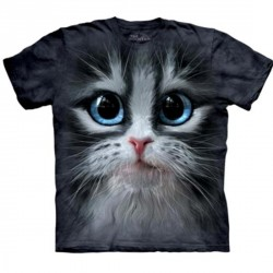 Tee shirt Frimousse de Chat - Taille S