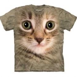 Tee shirt Portrait de Chat- taille XL