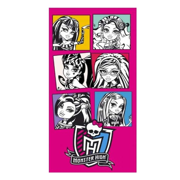 Drap de Plage  - serviette de plage Monster High