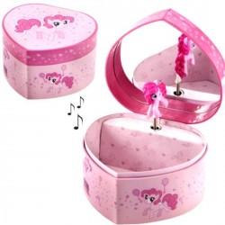Boite à bijoux musicale My little pony coeur