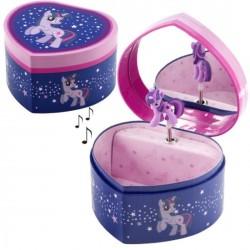 Boite à bijoux musicale My little pony bleu