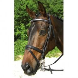 Bridon Deauville noir cheval