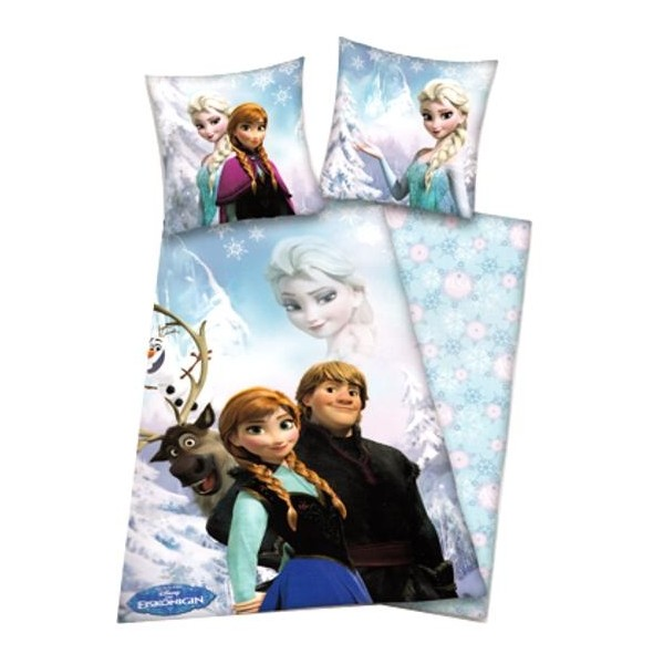 Parure de lit enfant La Reine des Neiges Flocon