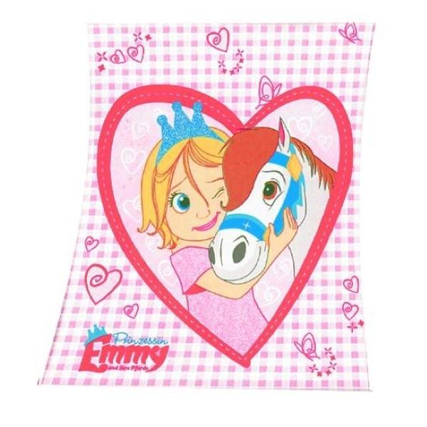 Plaid Cheval - Princesse Emmy