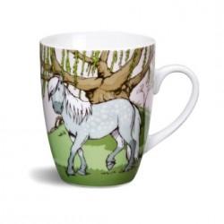 Mug Cheval gris pommelé