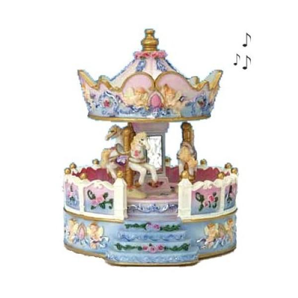 Carrousel musical Chevaux enfant