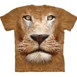 Tee shirt portrait de Lion - Taille M