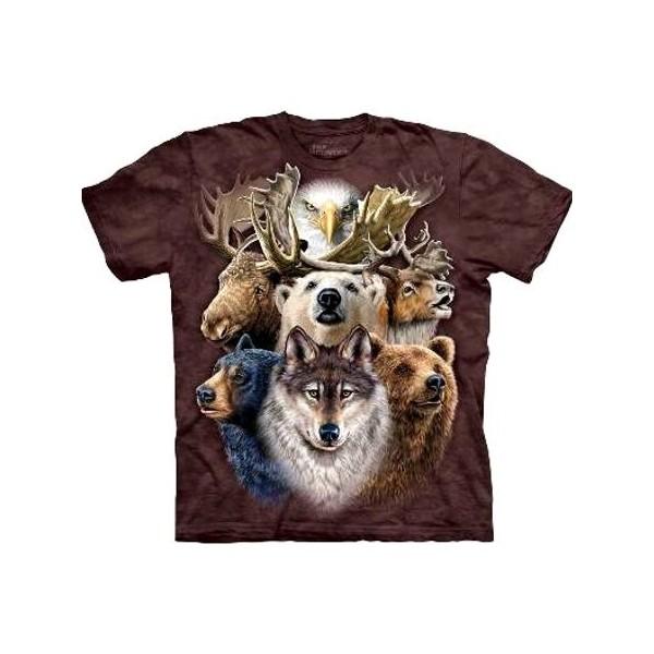 Tee shirt Animaux - Northern Wildlife collage