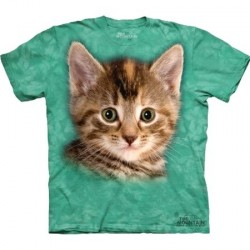 Tee shirt Chat Tigré - Taille M