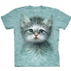 Tee shirt Chat aux Yeux bleus - Taille S