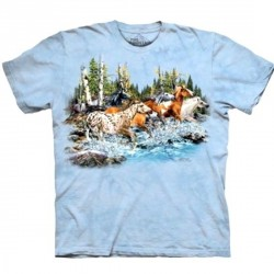 Tee shirt 20 Chevaux au galop