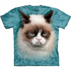 Tee shirt Chat Grumpy - Taille S