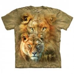 Tee shirt Lion Roi d'Afrique - Taille S