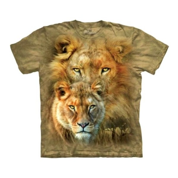 Tee shirt Lion Roi d'Afrique