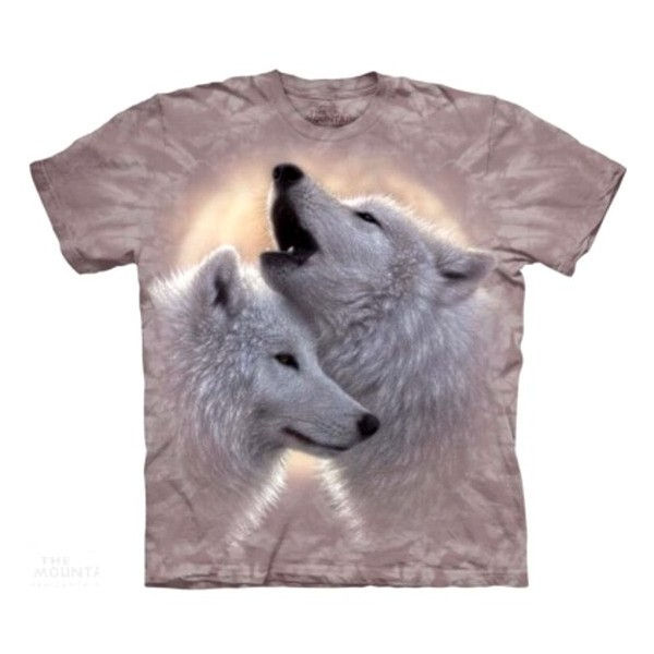 Tee shirt Loup -Chant d'amour