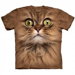 Tee shirt Portrait de Chat brun - taille XL