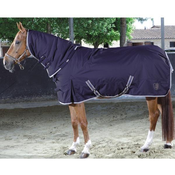 Couverture de paddock Tattini avec couvre-cou