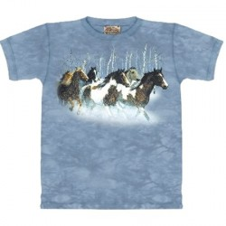 Tee shirt Chevaux - Winter Run
