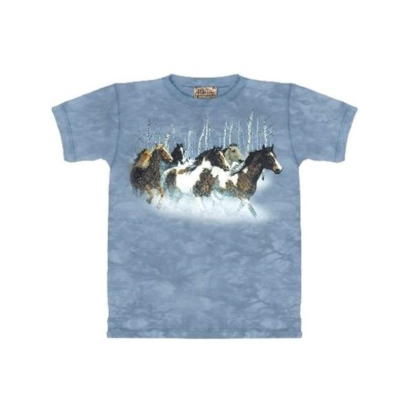 Tee shirt Chevaux - Winter Run