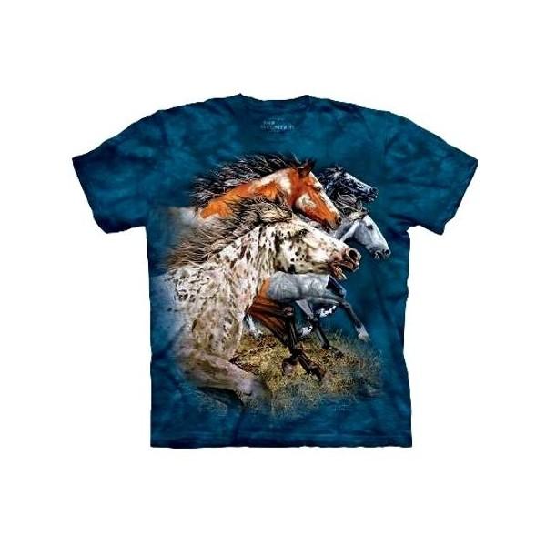 Tee shirt enfant 13 chevaux