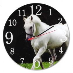 Horloge Cheval blanc