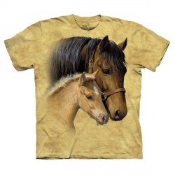 Tee shirt Chevaux - Gentle Touch -S