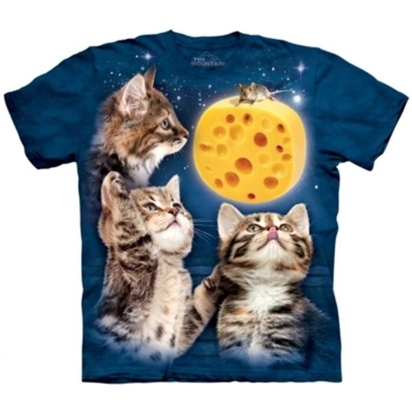Tee shirt Chat - trois petits chats