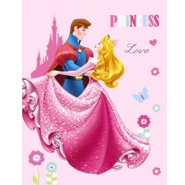 Plaid polaire Princesse Dreaming Love