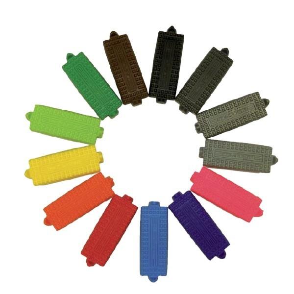 Semelles d'étriers Premium de couleur