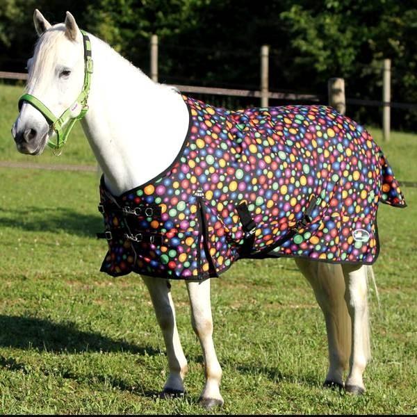 Couverture imper Balls pour poney